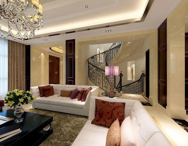 150平米不一样的欧式风格独栋别墅装修效果图
