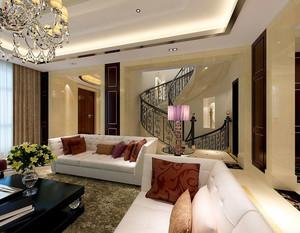复式别墅旋转楼梯装饰