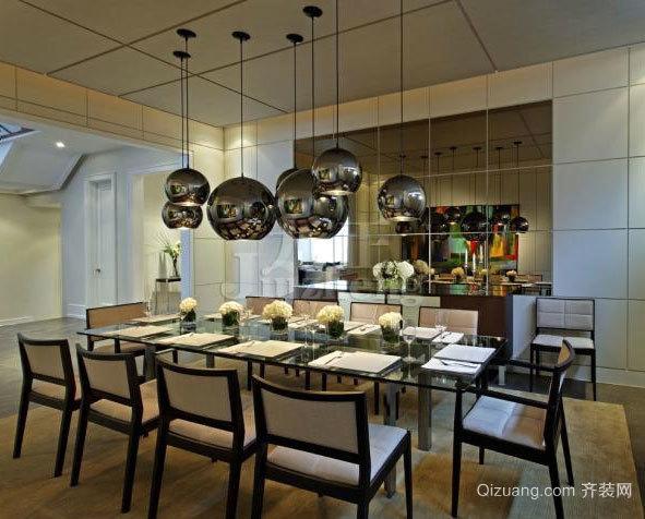 价格便宜,施工简单的餐厅集成吊顶装修效果图