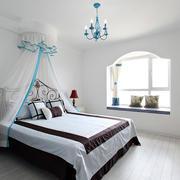 地中海风格婚房卧室设计