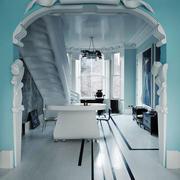 简约欧式奢华风格别墅拱形门装饰