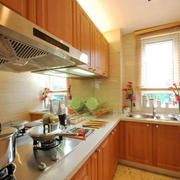 现代简约L型小型厨房