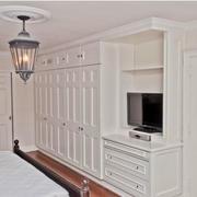 欧式卧室一体化衣柜设计