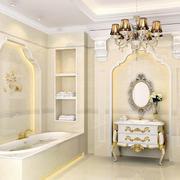欧式卫生间镜饰装饰