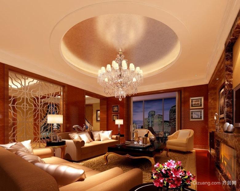 别有一番滋味:华丽精致的小户型客厅吊顶装修效果图鉴赏大全