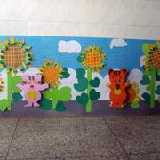 幼儿园墙饰贴纸
