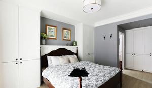 现代美式老年小公寓装修效果图