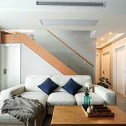日式简约风格客厅阳台装饰