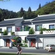 简约系列农村二层房屋