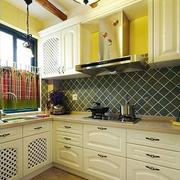 欧式简约风格厨房效果图