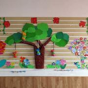 幼儿园教室墙饰装修