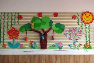 幼儿园主题墙装饰设计效果图