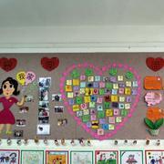 幼儿园简约风格墙饰效果图