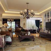 小户型欧式经典客厅装饰