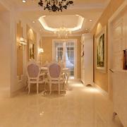 三室一厅欧式奢华餐厅装修