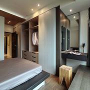 婚房卧室简约吊顶设计