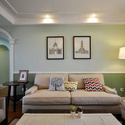 100平米房屋客厅装修