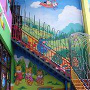 幼儿园大型前厅墙饰装饰