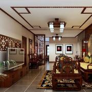 中式红木置物架装饰