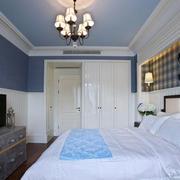 三室一厅卧室电视柜设计