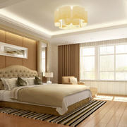 欧式简约风格卧室飘窗设计