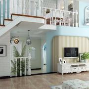 地中海风格简约客厅装饰