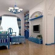 两室一厅简约吊顶装饰
