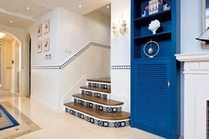 两室一厅地中海风格楼梯装饰