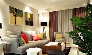 小户型混搭风格客厅设计