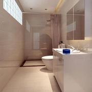 别墅简欧风格卫生间设计