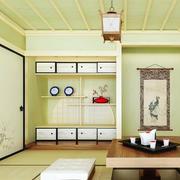 清新果绿色榻榻米装饰