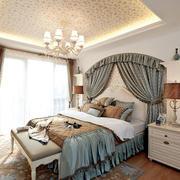 两室一厅欧式卧室装饰