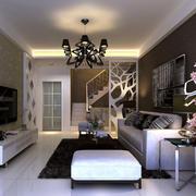 简约风格客厅灯饰设计