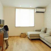 小户型日式客厅沙发装饰