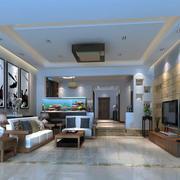 别墅简约风格客厅装饰