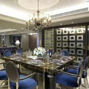 后现代风格精致餐桌设计