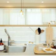 韩式清新厨房洗漱池设计