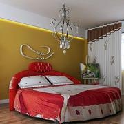 欧式简约风格卧室床头装饰