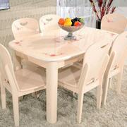欧式简约风格餐桌设计