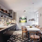 别墅后现代风格厨房装饰
