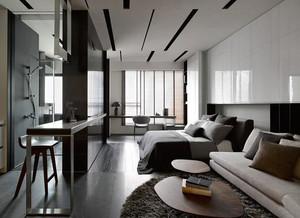 紧凑不失唯美 简约不失时尚的一居室小户型装修效果图