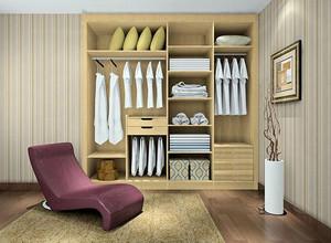 实用木质衣柜设计图片