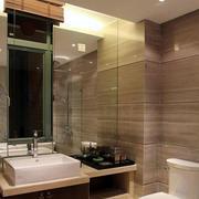 卫生间简约风格玻璃隔断