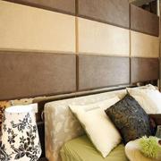 120平米房屋卧室床头背景墙