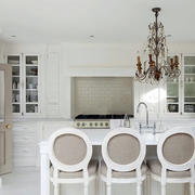 三室一厅美式厨房装饰