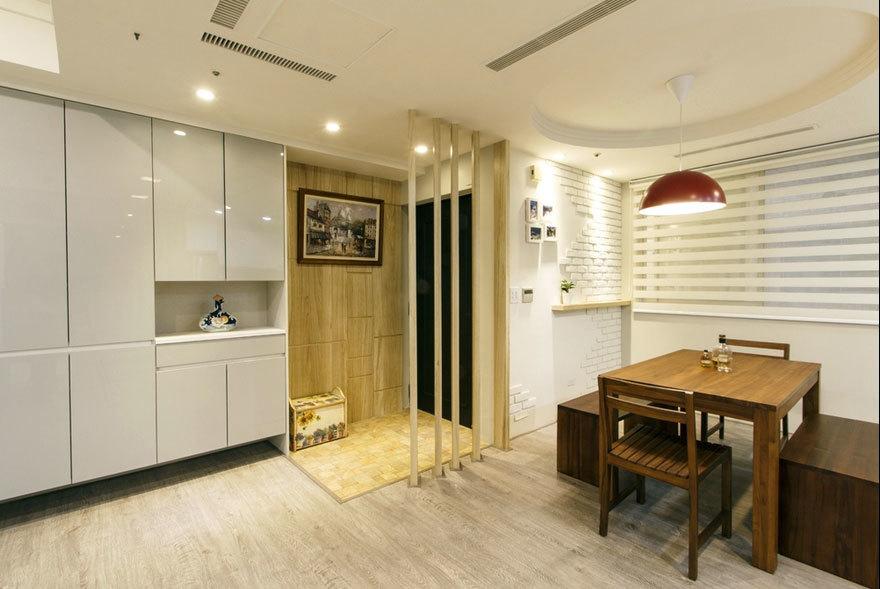 延伸多元的生活机能自住型商品房客餐厅家装效果图