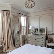 三室一厅美式卧室橱柜设计