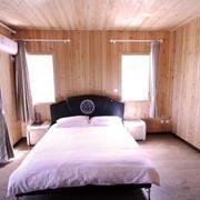 美式原木别墅卧室装饰