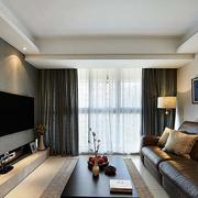 日式风格客厅飘窗装饰