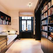 别墅简约风格书房榻榻米设计